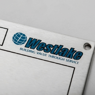 Stainless Steel Nameplate Product Image